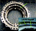 Low-wattage repair of Ti-6Al-4V bearing housing.