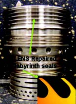 Repair of Inconel® 718 compressor